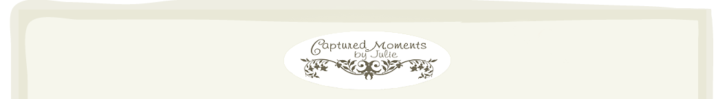Captured Moments by Julie  logo